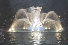 Noche de magia.....Alcalde de Lima inaugura impresionante circuito mágico del agua  !!