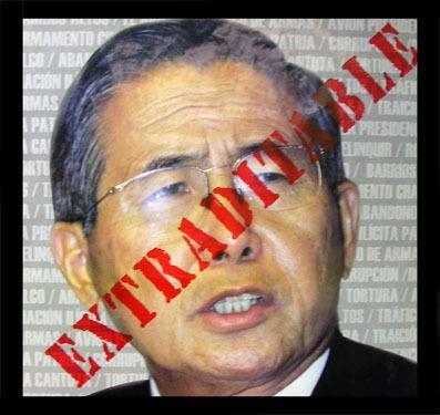 Fujimori parte hacia Perú