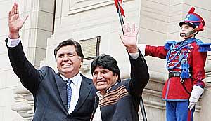 PERU NO SERA OBSTACULO PARA BOLIVIA