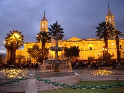AREQUIPA : ESPERA RECIBIR MILES DE PERSONAS EN SU 467º ANIVERSARIO