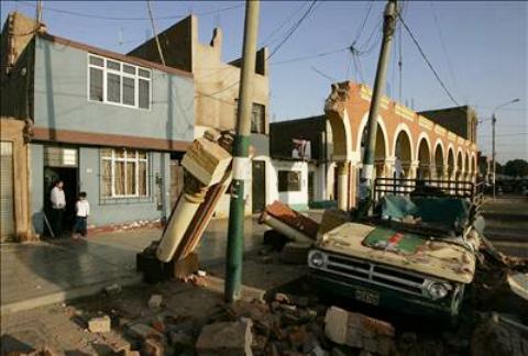 El terremoto en Perú tuvo una duración de 3,30 minutos, revela especialista