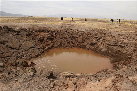"""¿Ha dado origen a """"enfermedad misteriosa"""" un meteorito caído en el Perú?"""