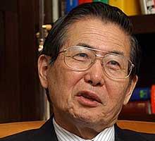 Fujimori pasó su primera noche detenido en prisión policial de Perú