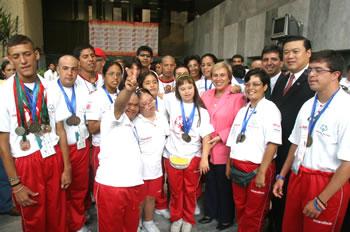 Olimpiadas Especiales Perú presente en Juegos Mundiales Shangai –China 2007