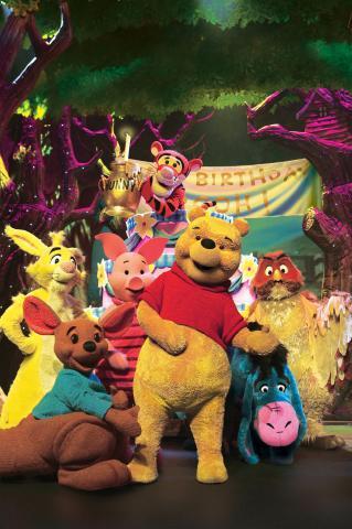 Winnie The Pooh y todos sus amigos por primera vez en Perú