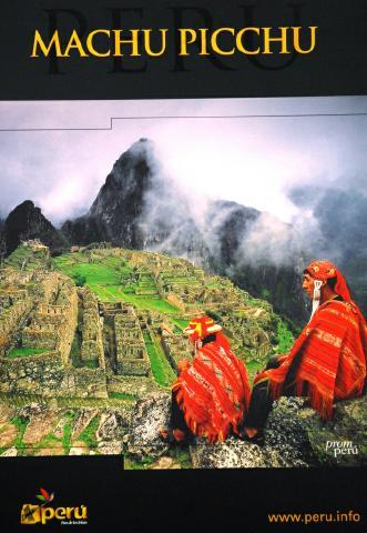 PERU: Premio a mejos poster turistico de las Américas